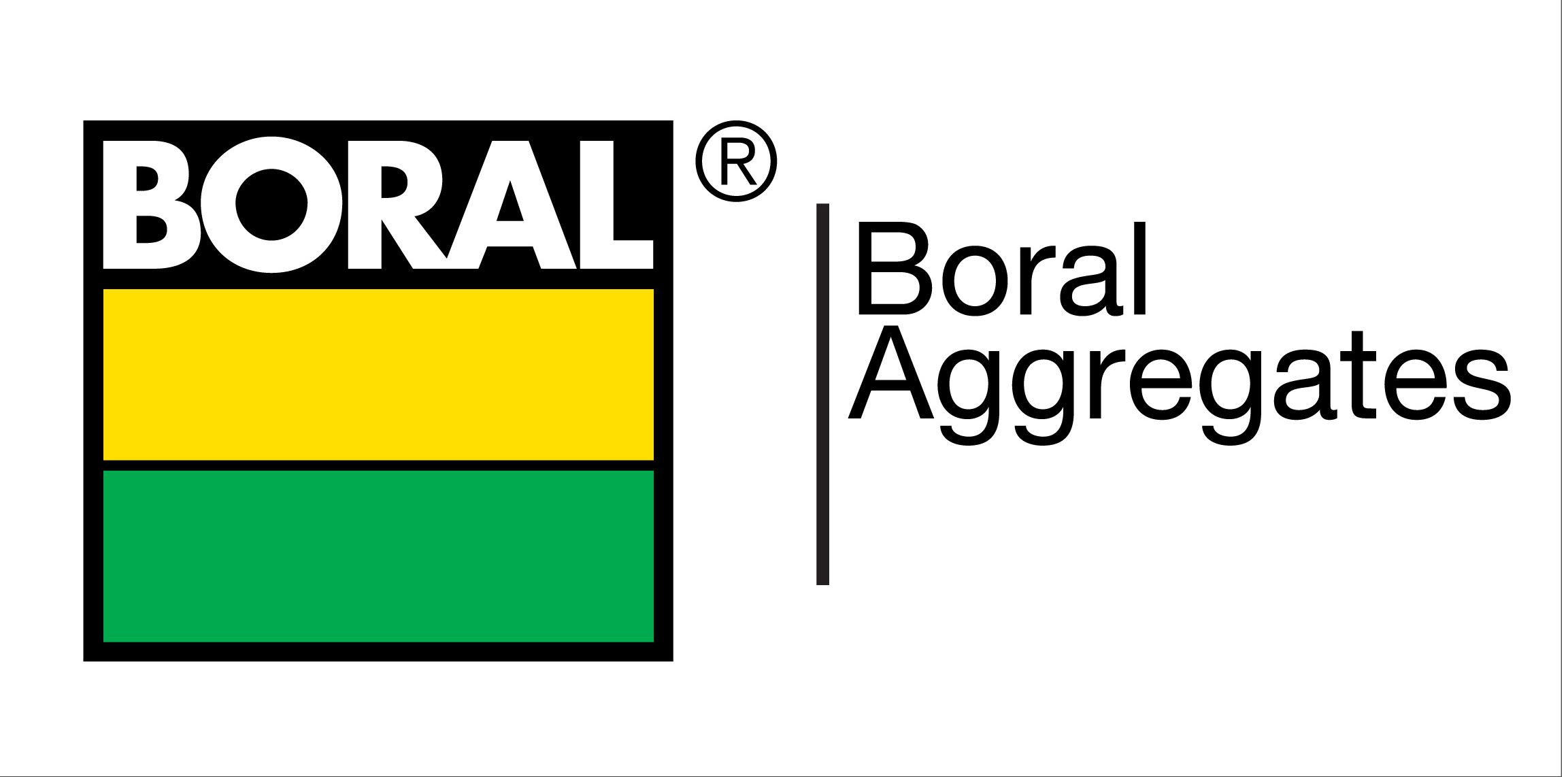 Boral Aggregates sign