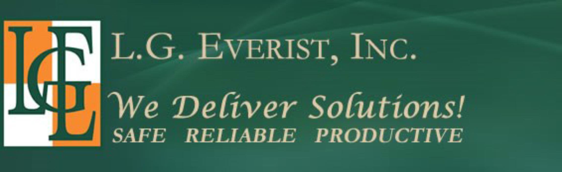 LG Everist Inc We Deliver Solutions Logo