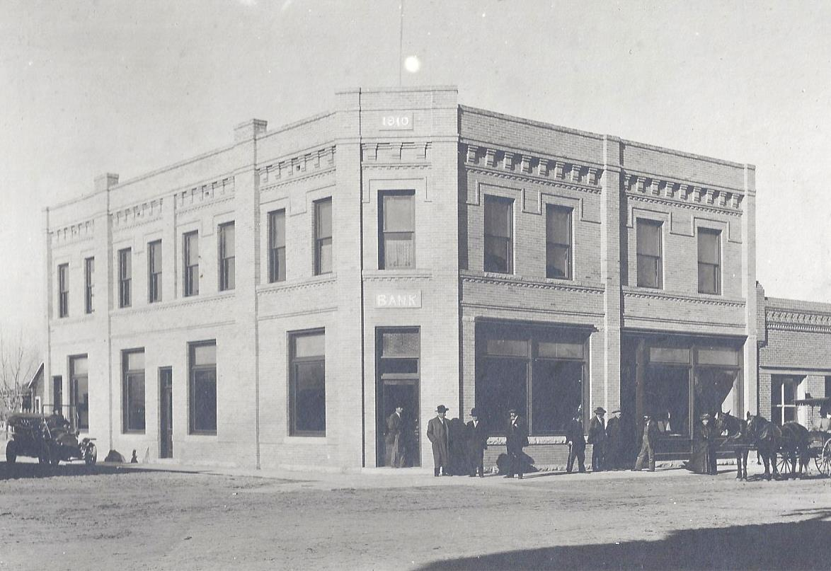 1910 Fort Lupton State Bank photo