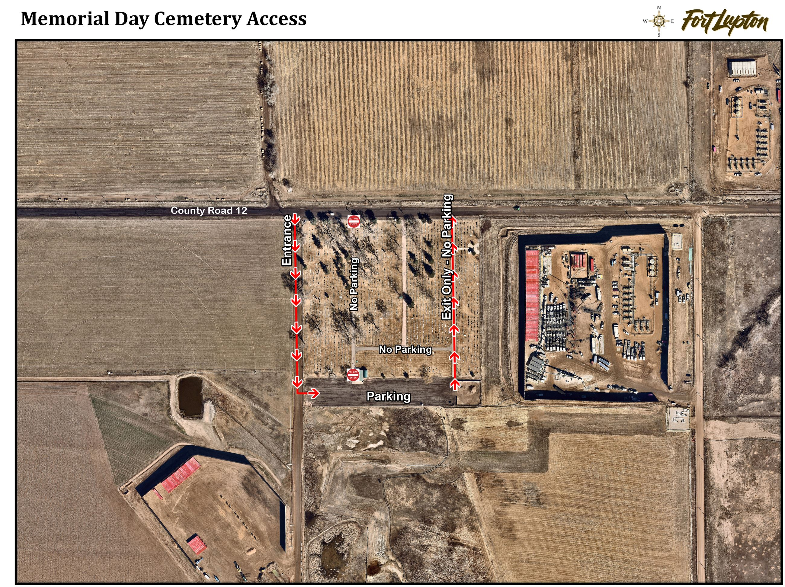 Memorial Day Cemetery Access 2020