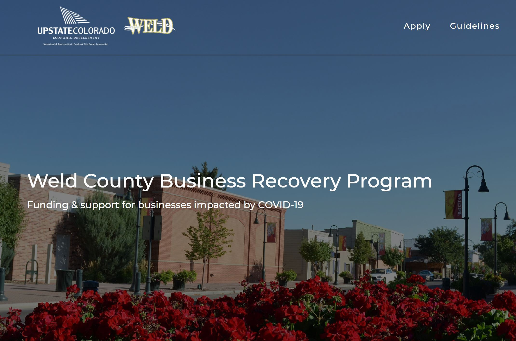 Weld Business Recovery Program Image