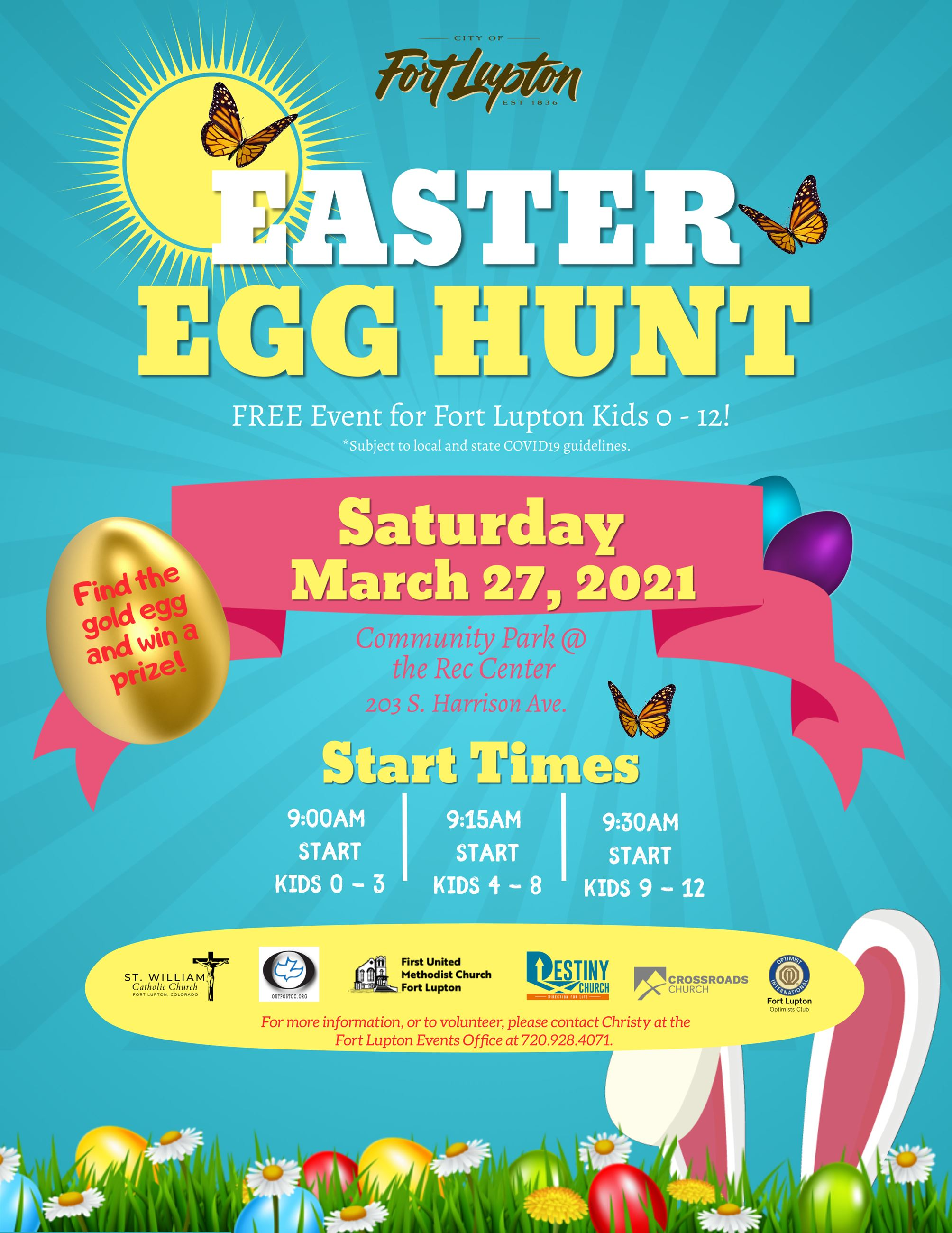 FL Easter Egg Hunt - Social Media Poster