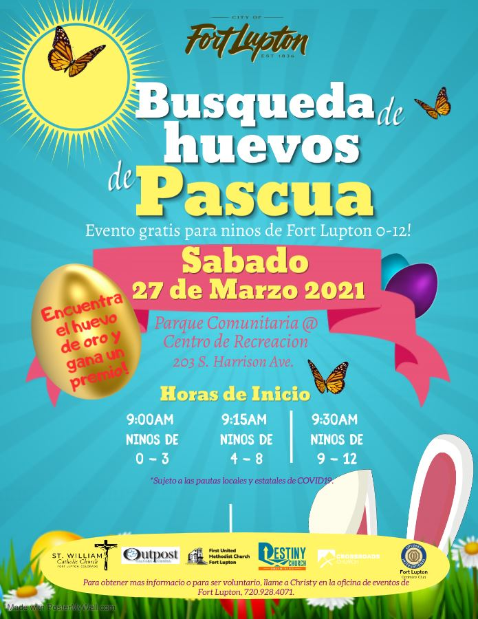 SPANISH - Easter Egg Hunt 2021