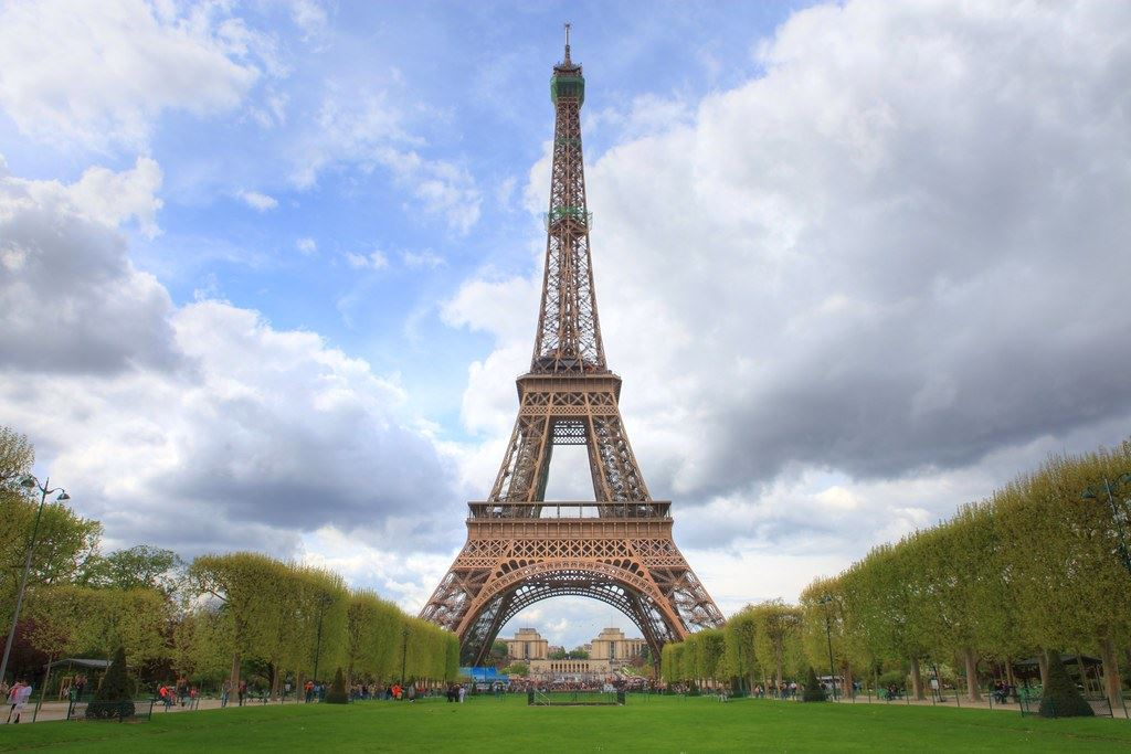 Eiffel Tower Opens in new window