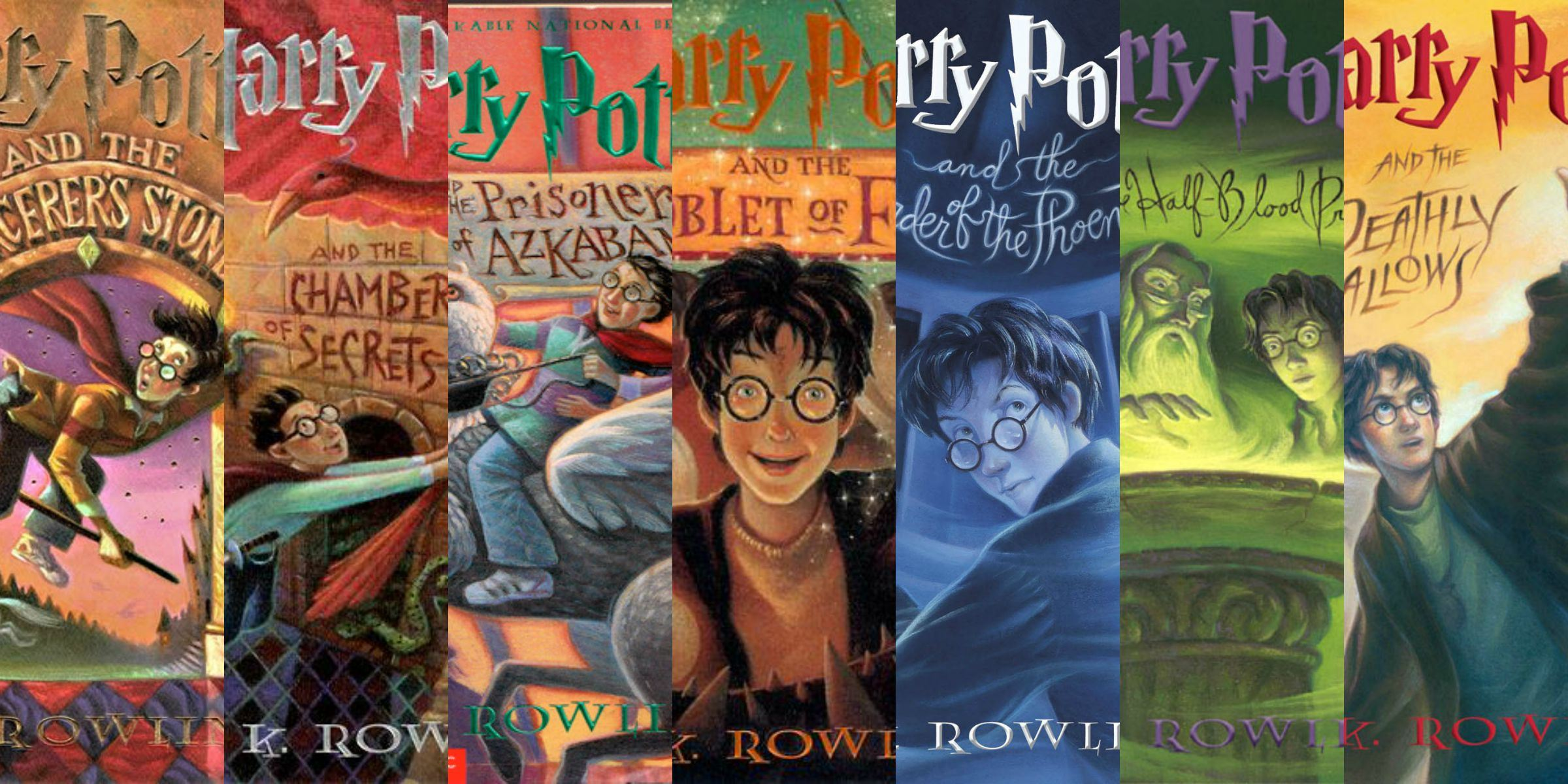 Harry Potter Series Opens in new window